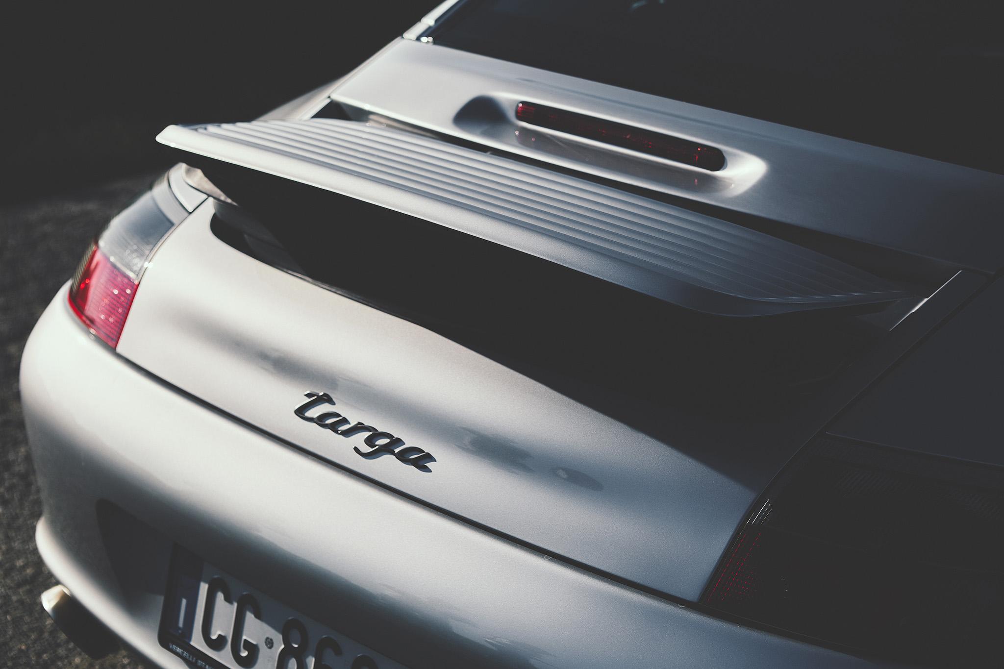 HALF MAG – Porsche 996 Targa – Alex Olgiati
